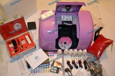 Принтер для ногтей, цветов, сувениров  и мобильных Eget (максимальная комплектация) на базе HP (hewlett packard)