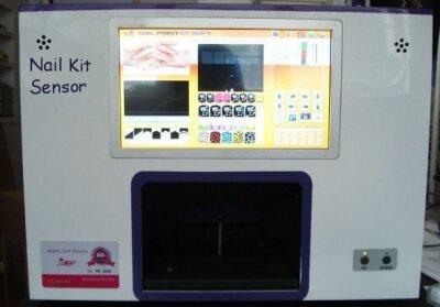Принтер для ногтей, цветов, сувениров NAIL KIT Sensor (комплектация full)